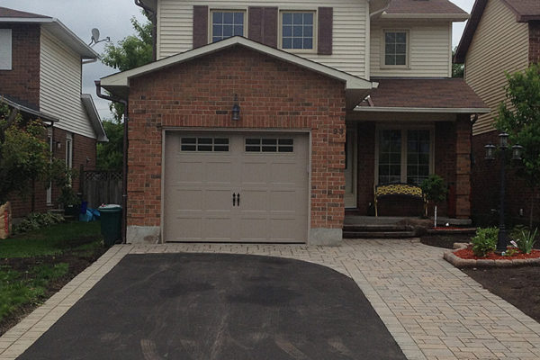 Small interlock and paving project in Ottawa 2